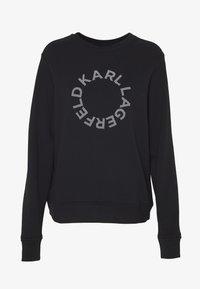 KARL LAGERFELD - CIRCLE LOGO - Sweatshirt - black - 3