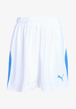 LIGA - Sports shorts - white/electric blue