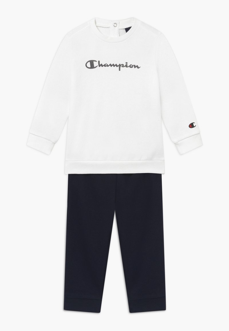Champion - CHAMPION X ZALANDO TODDLER SET - Survêtement - white/dark blue