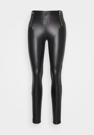 ONLTIA MIA  - Pantalones - black