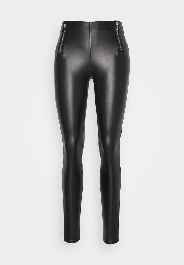 ONLTIA MIA  - Trousers - black