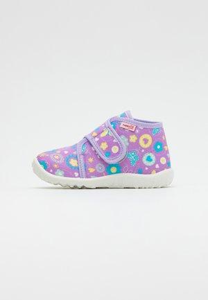SPOTTY - Domácí obuv - lila