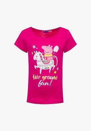 FAIR GROUND FUN  - Print T-shirt - pink