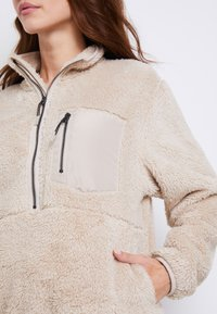 ONLY - ONLDALINA ZIP - Sweat polaire - pumice stone - 6