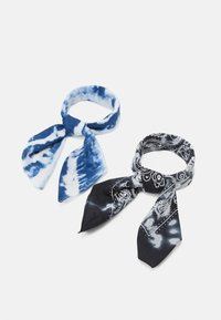 Zign - UNISEX 2 PACK - Foulard - black/blue - 0