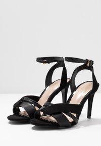Miss Selfridge Wide Fit - WIDE FIT STELDA HILDA UPDATE - High heeled sandals - black - 4