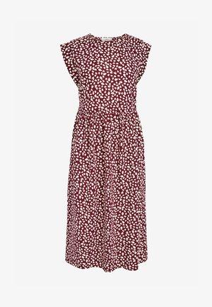 Jersey dress - berry