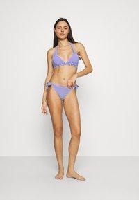 ONLY - ONLKIT PRINT BIKINI SET - Bikini - mazarine blue/white - 1
