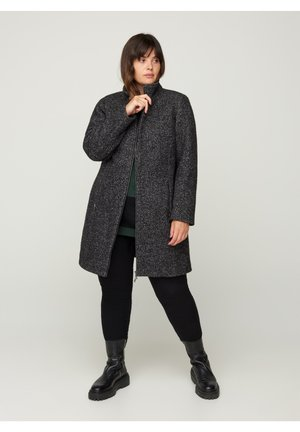 Cappotto corto - dark grey