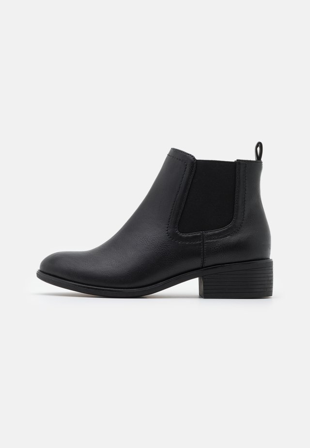 WIDE FIT MAPLE CHELSEA  - Boots à talons - black