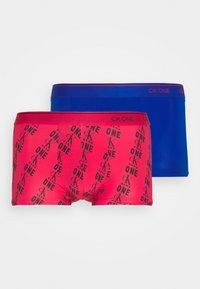 Calvin Klein Underwear - LOW RISE TRUNK 2 PACK - Pants - kettle blue/multi - 4
