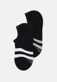 Calvin Klein Underwear - LINER SIZED SETH 2 PACK - Socks - black - 0