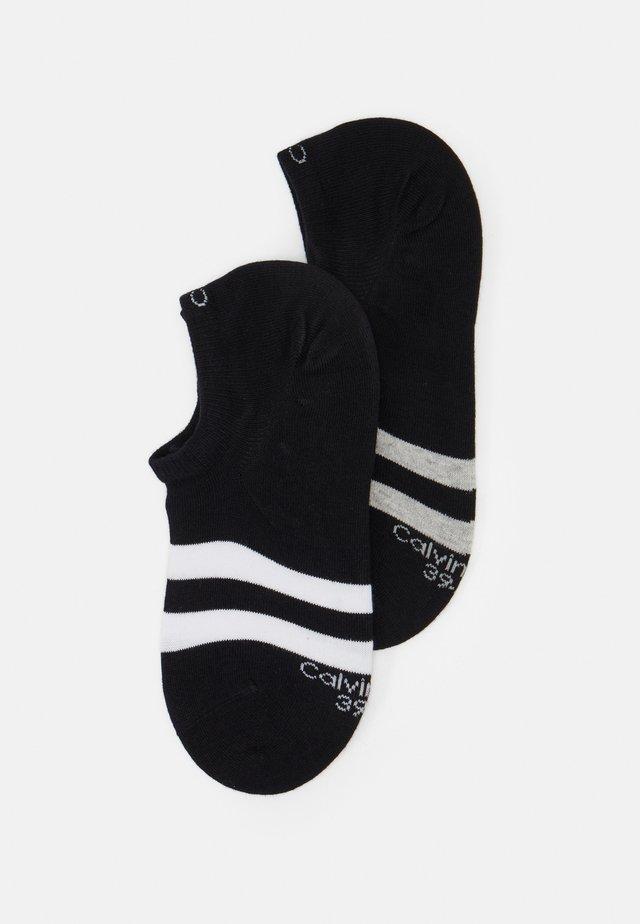 LINER SIZED SETH 2 PACK - Socks - black