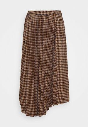 BELLIS SKIRT - Plisovaná sukně - brown