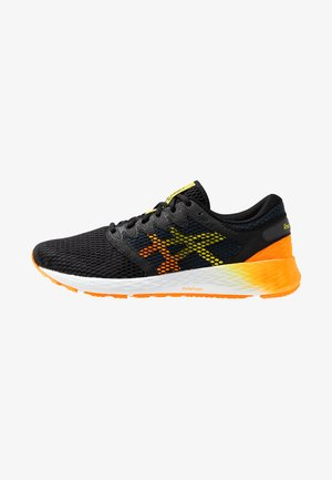 ROADHAWK FF 2 - Neutral running shoes - black/shocking orange