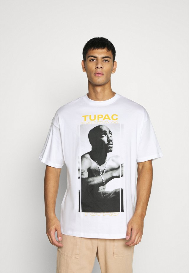 ONSTUPAC LIFE TEE - Camiseta estampada - white