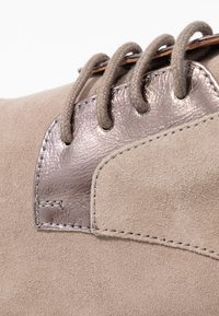 Anna Field - LEATHER LACE-UPS - Derbies - grey - 2