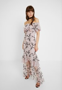 We are Kindred - CHARLOTTE OFF SHOULDER DRESS - Occasion wear - rosebud - 0
