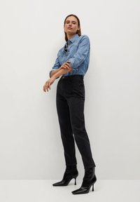 Mango - NEWMOM - Slim fit jeans - black denim - 3