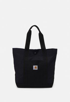 WORK TOTE UNISEX - Tote bag - black/dark navy