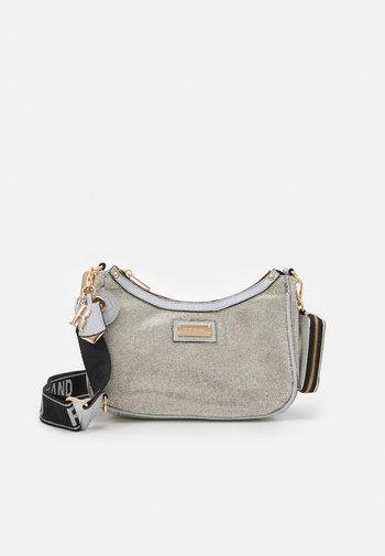 Across body bag - silver