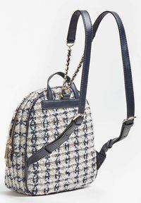 Guess - SAC A DOS CESSILY TWEED - Backpack - blanc multi - 1