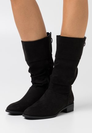 WIDE FIT ASH - Boots - black