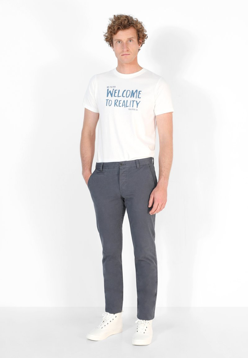 Scalpers - Chinos - greyish blue