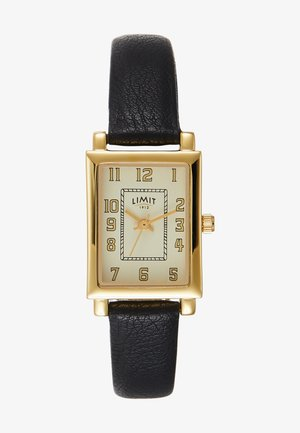 LADIES STRAP WATCH MATT DIAL - Hodinky - black