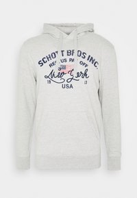 Schott - Hoodie - heather grey - 4