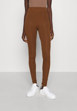 GIUDEA - Leggings - Trousers - rame