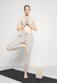 Free People - WORK IT OUT - Tracksuit bottoms - grey - 1