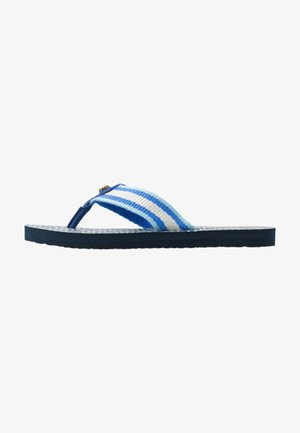 GEMINI LINK THIN  - T-bar sandals - blue