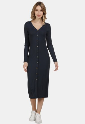 STRICKKLEID - Shift dress - marine