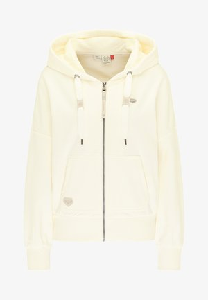 HODBY - Zip-up hoodie - off white