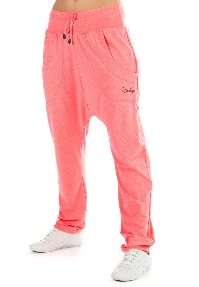 Pantaloni sportivi - neon coral