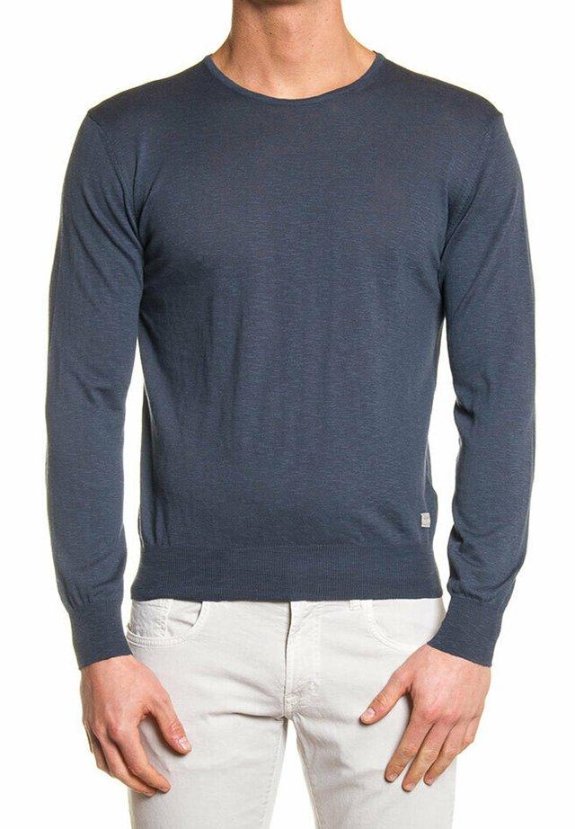 Maglietta a manica lunga - grigio