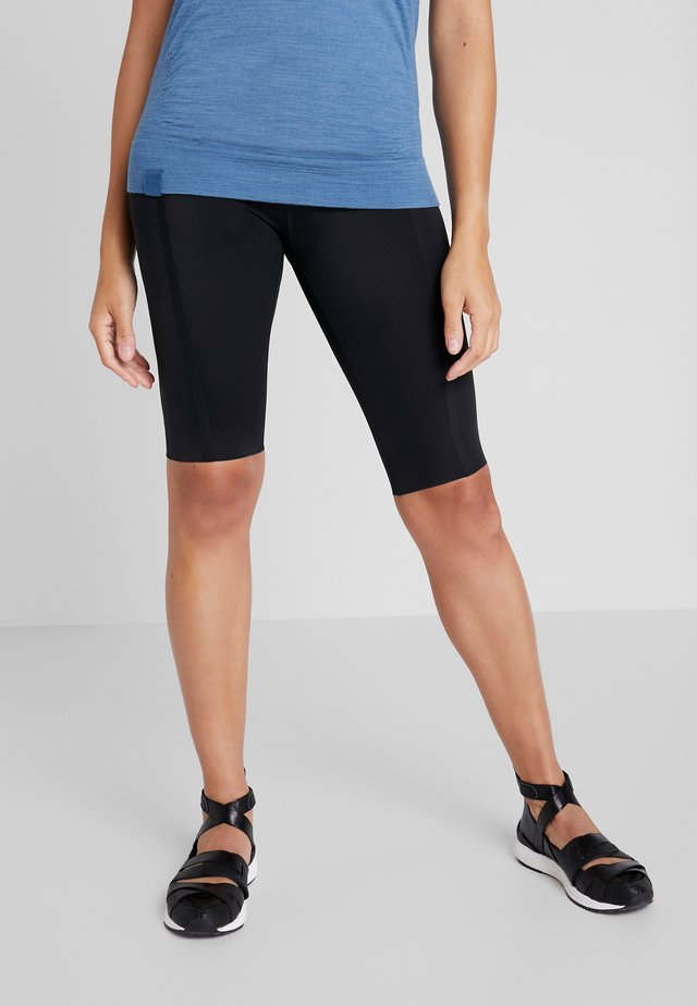SIGRUN SHORTS - Trikoot - black