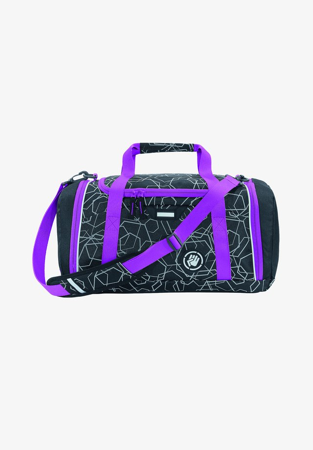 SPORTERPORTER - Sports bag - laserreflect berry