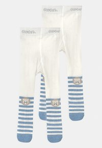Ewers - LION 2 PACK - Tights - blue/grey - 0