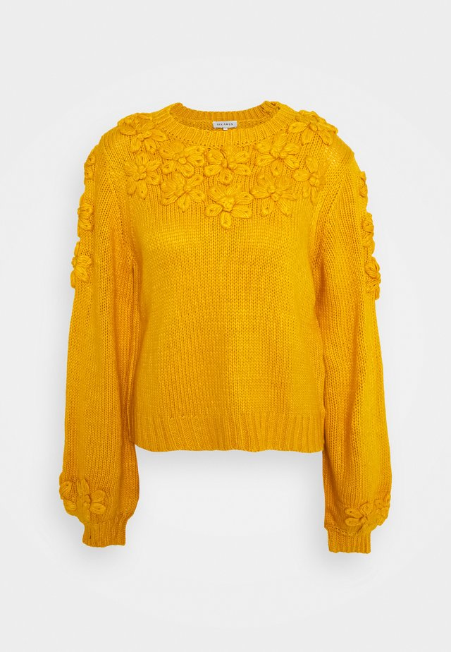 LEANA - Jumper - yellow
