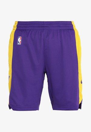 NBA LA LAKERS SHORT - Sports shorts - field purple/amarillo/black