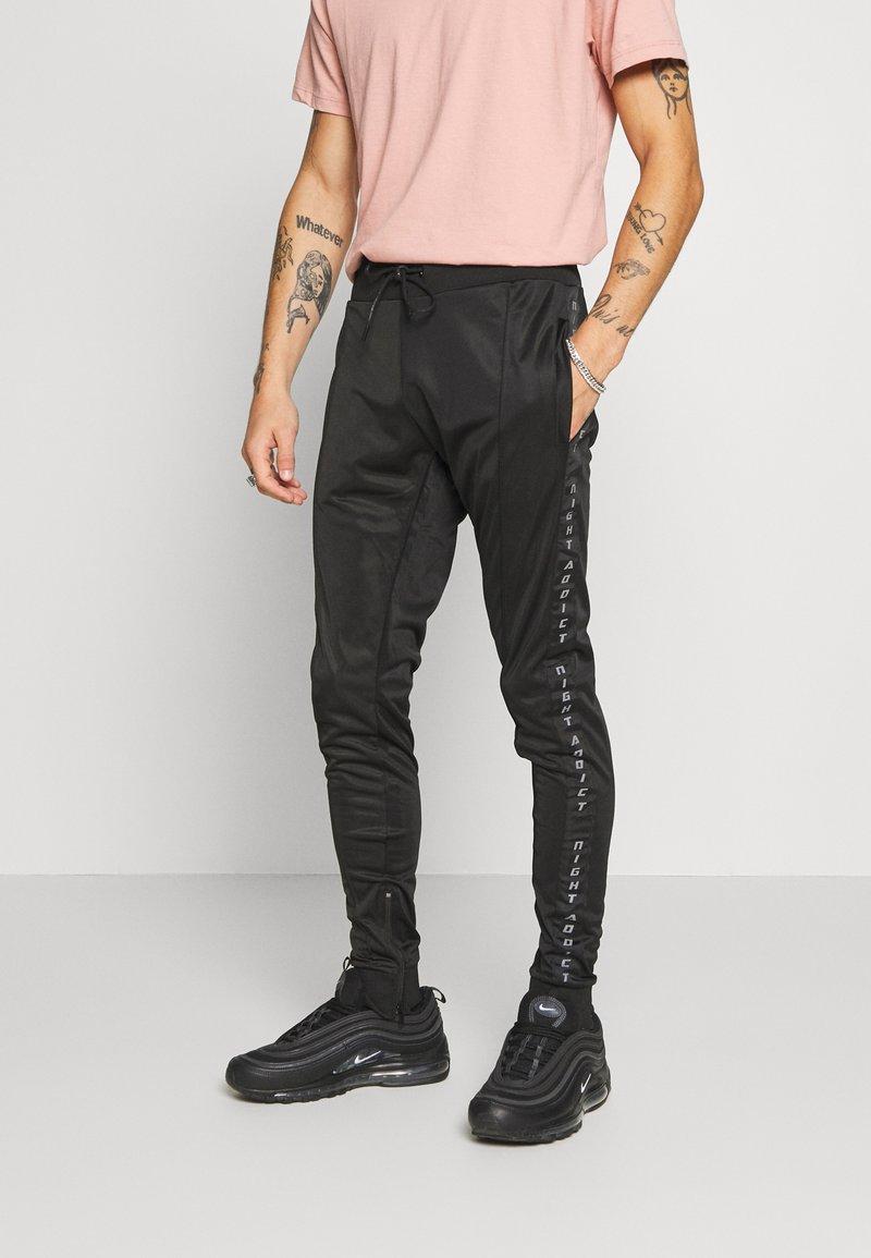 Night Addict - VIPER - Pantaloni sportivi - black