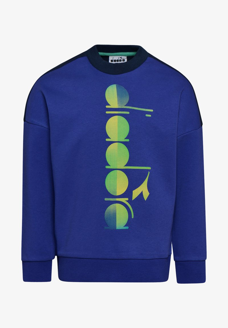 Diadora - CREW CLUB UNISEX - Sweatshirt - blue clematis
