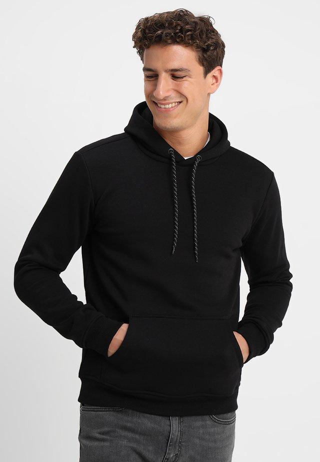 KIMAR HOOD - Bluza z kapturem - black