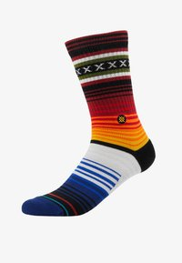 Stance - CURREN CREW - Socks - red - 1