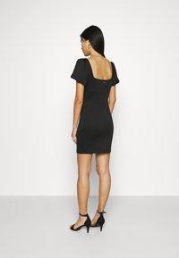 Guess - SASKIA DRESS - Jersey dress - jet black - 2