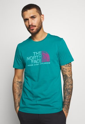 MEN'S RUST TEE - Print T-shirt - fanfare green