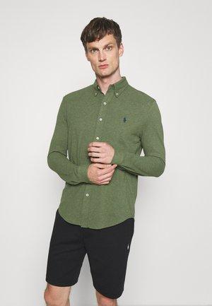 LONG SLEEVE - Shirt - moss green heather