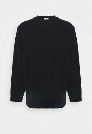 OVERSIZED LONGSLEEVE - Langarmshirt - black